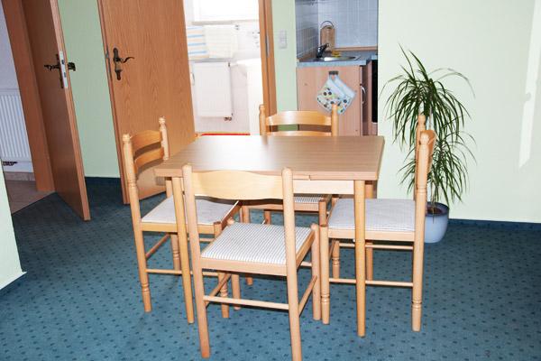 Ferienwohnung-Sitzecke
